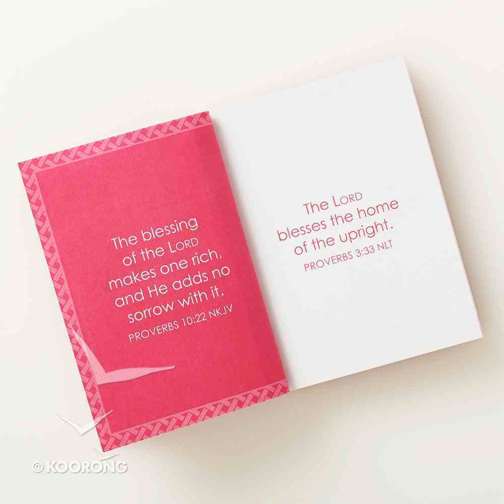 Book of Wisdom (Bright Pink Luxleather) (Pocket Inspirations Series) Imitation Leather