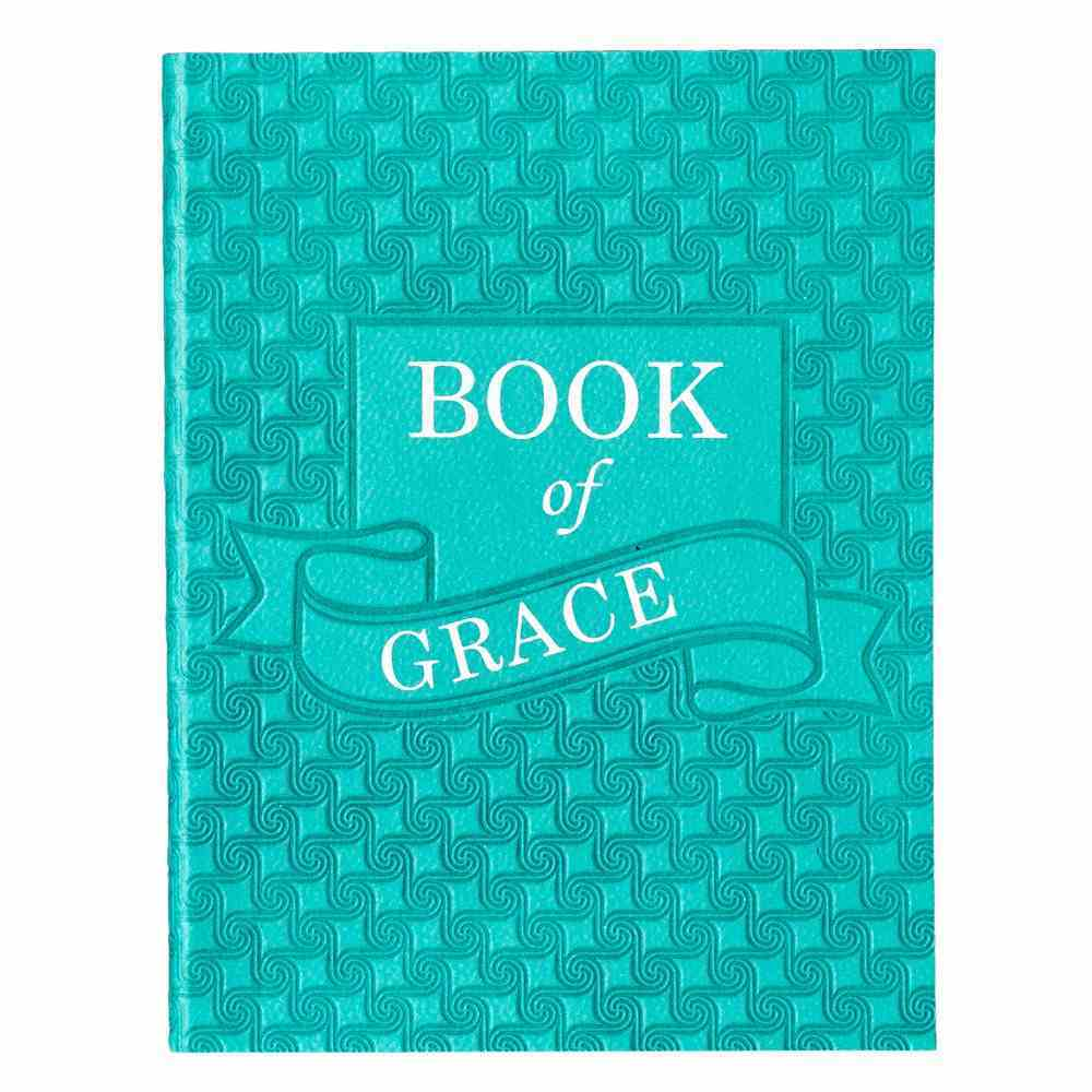 Book of Grace (Turquoise Luxleather) (Pocket Inspirations Series) Imitation Leather