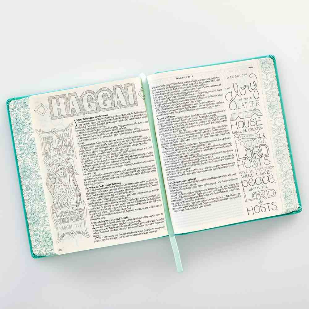 KJV My Creative Bible Aqua (Black Letter Edition) Imitation Leather