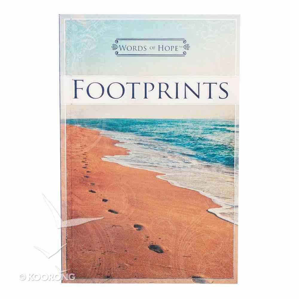 Footprints (Words Of Hope Series) Paperback