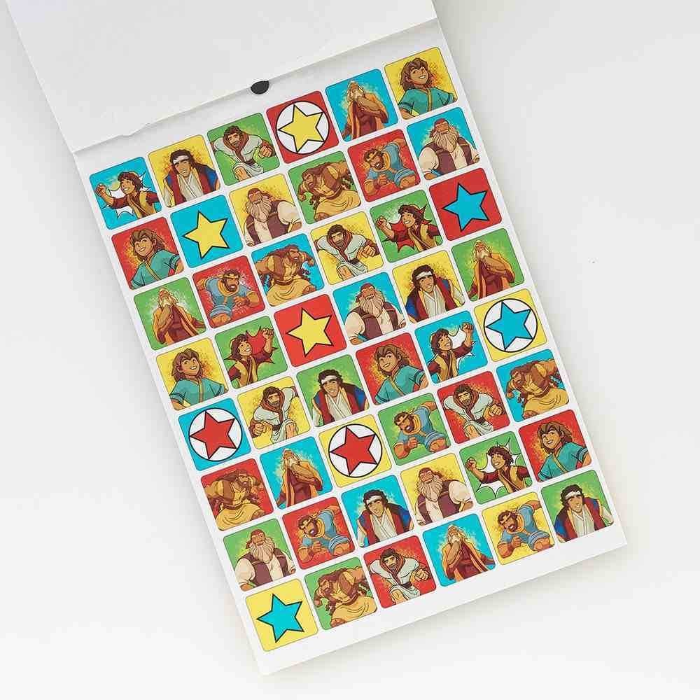Super Heroes Sticker Book Stationery