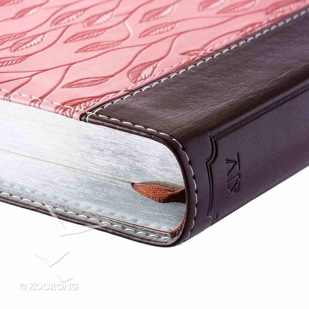 KJV Pocket Bible Pink Brown Red Letter Edition Imitation Leather