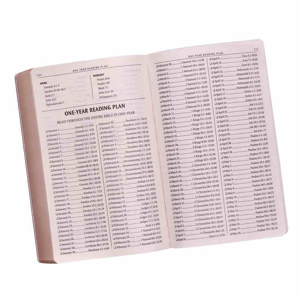 KJV Gift & Award Bible Purple (Black Letter Edition) Imitation Leather