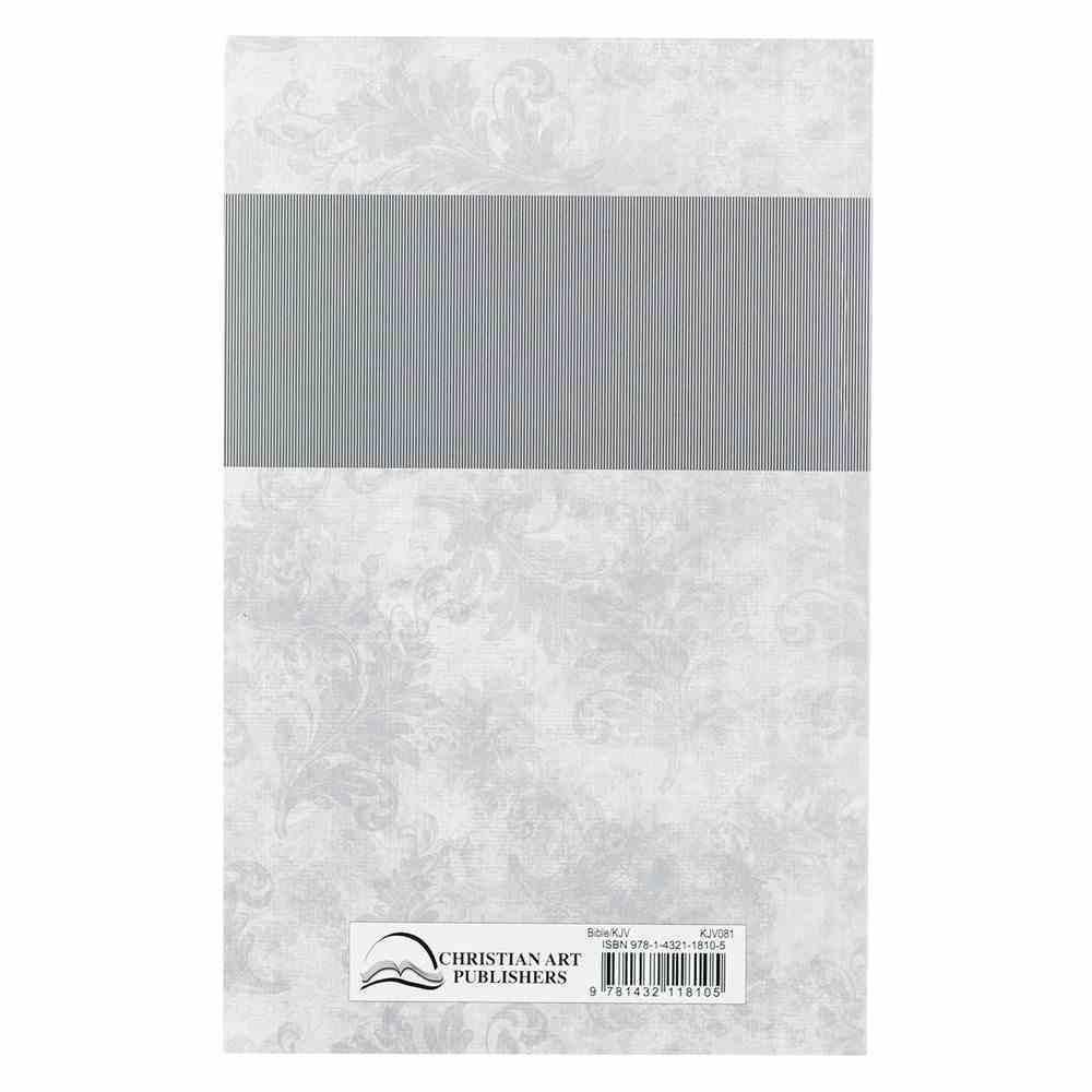 KJV Bible Silver (Black Letter Edition) Paperback