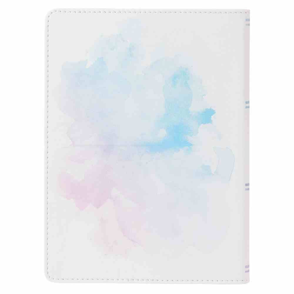 Classic Journal: Be Still & Know....Psalm 46:10 Watercolour Luxleather Imitation Leather