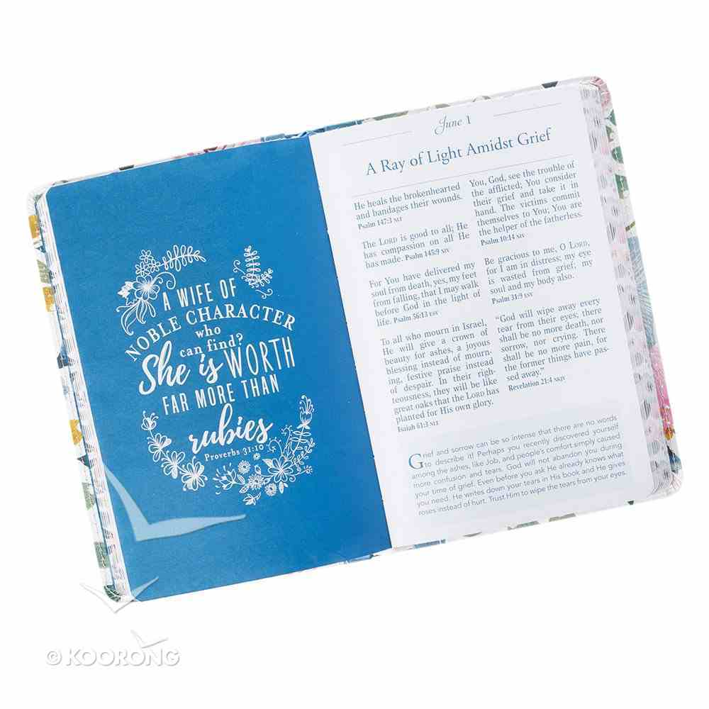 Pocket Bible Devotional For Women (365 Daily Devotions Series) Flexi Back