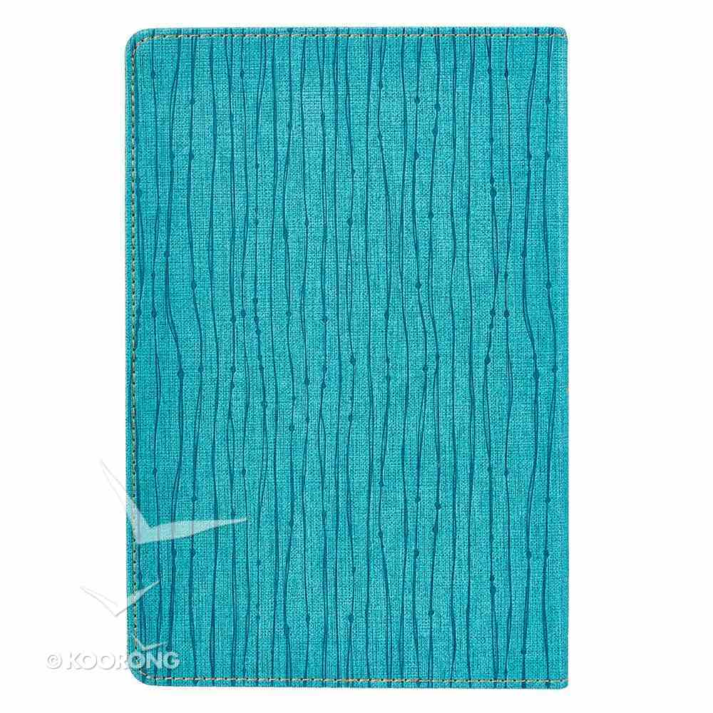 Legacy Journal: My Life, My Story, Teal/Foiled Title Luxleather Imitation Leather