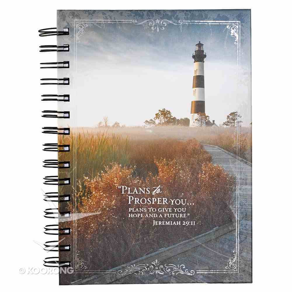 Spiral Journal: I Know the Plans Lighthouse (Large) Spiral