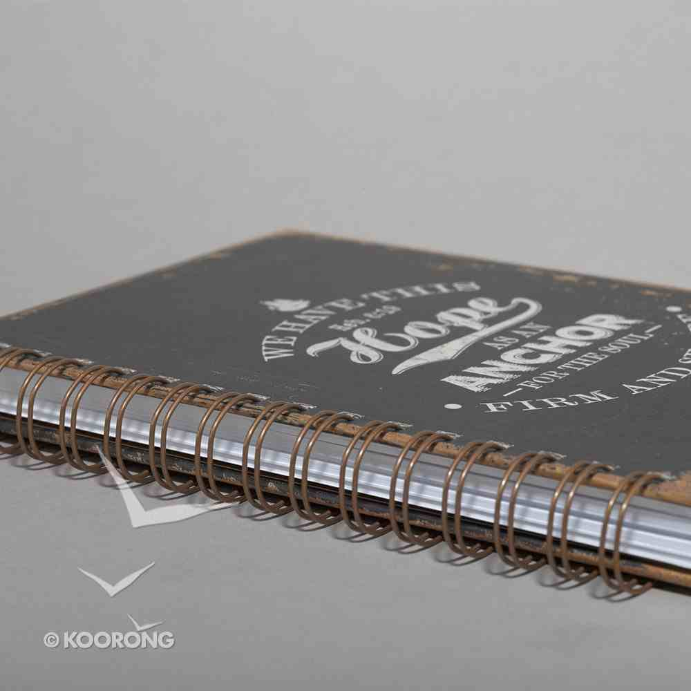 Spiral Journal: Finishing Strong: We Have This Hope, Black (Large) Spiral