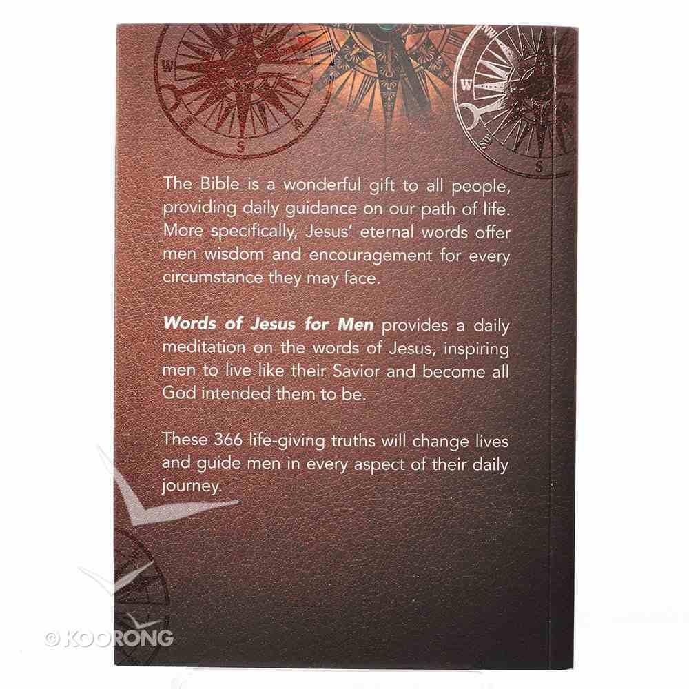366 Devotions: Words of Jesus For Men Paperback