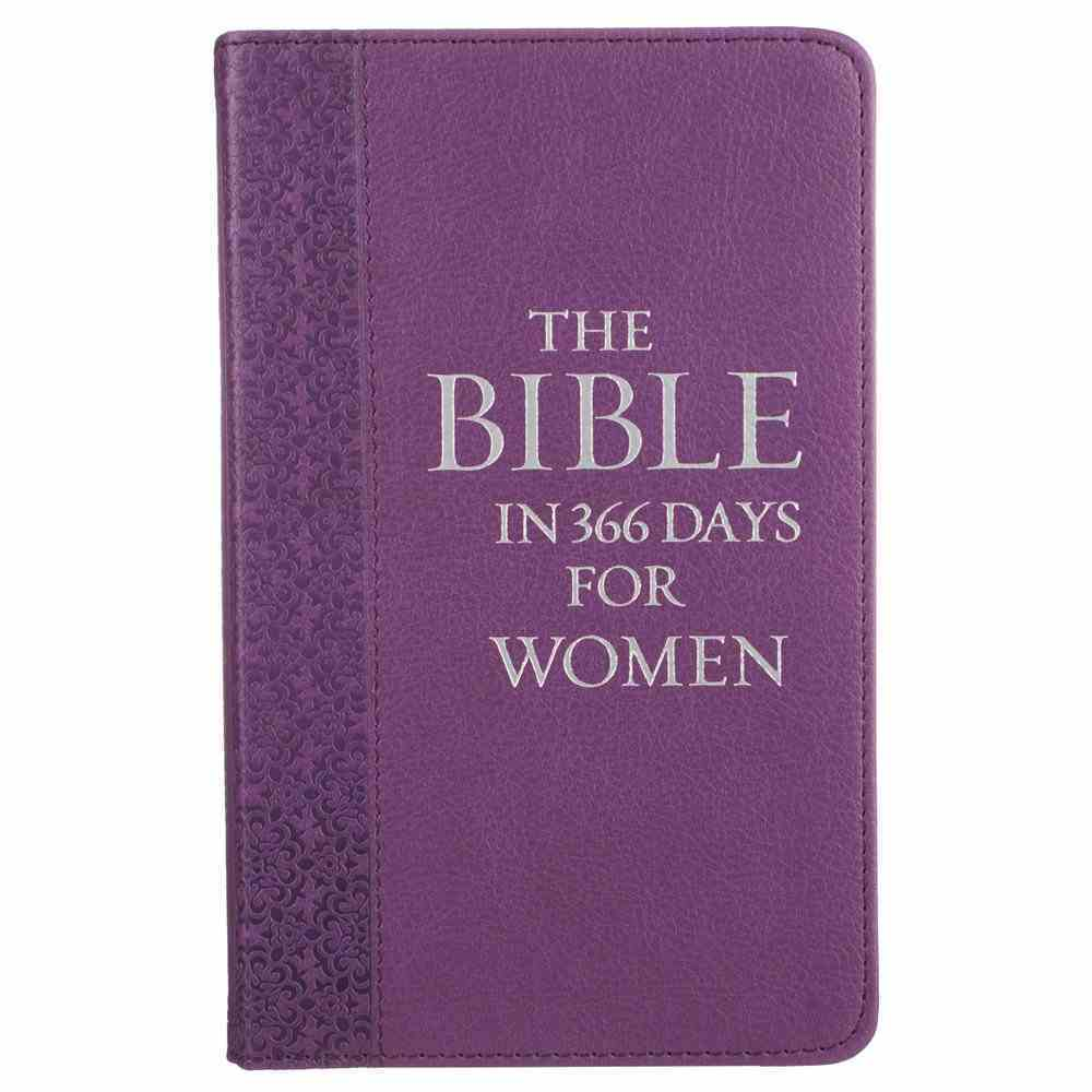 The Bible in 366 Days For Women (Purple) Imitation Leather