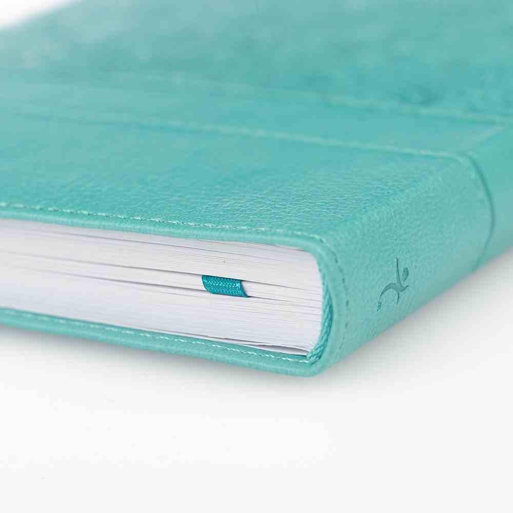 Journal: Everlasting Love, Turquoise, Handy-Sized Imitation Leather