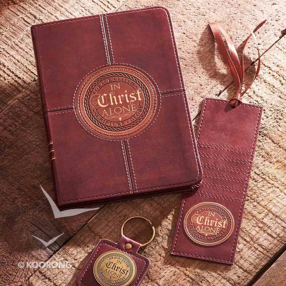 In Christ Alone: Grace, Faith, Scripture, Glory Imitation Leather