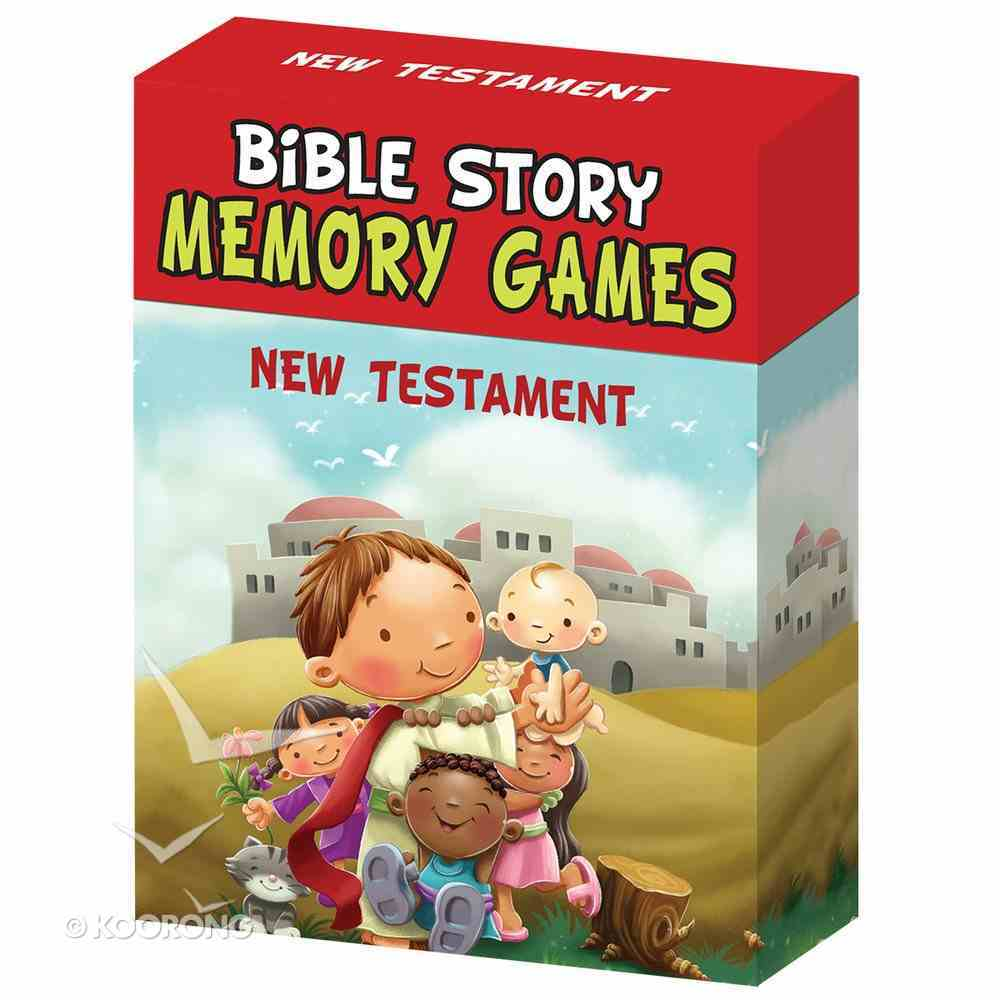 Bible Story Memory Games: New Testament Box