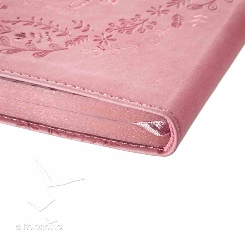 Classic Journal: I Know the Plans I Have For You.... Pink Luxleather Imitation Leather