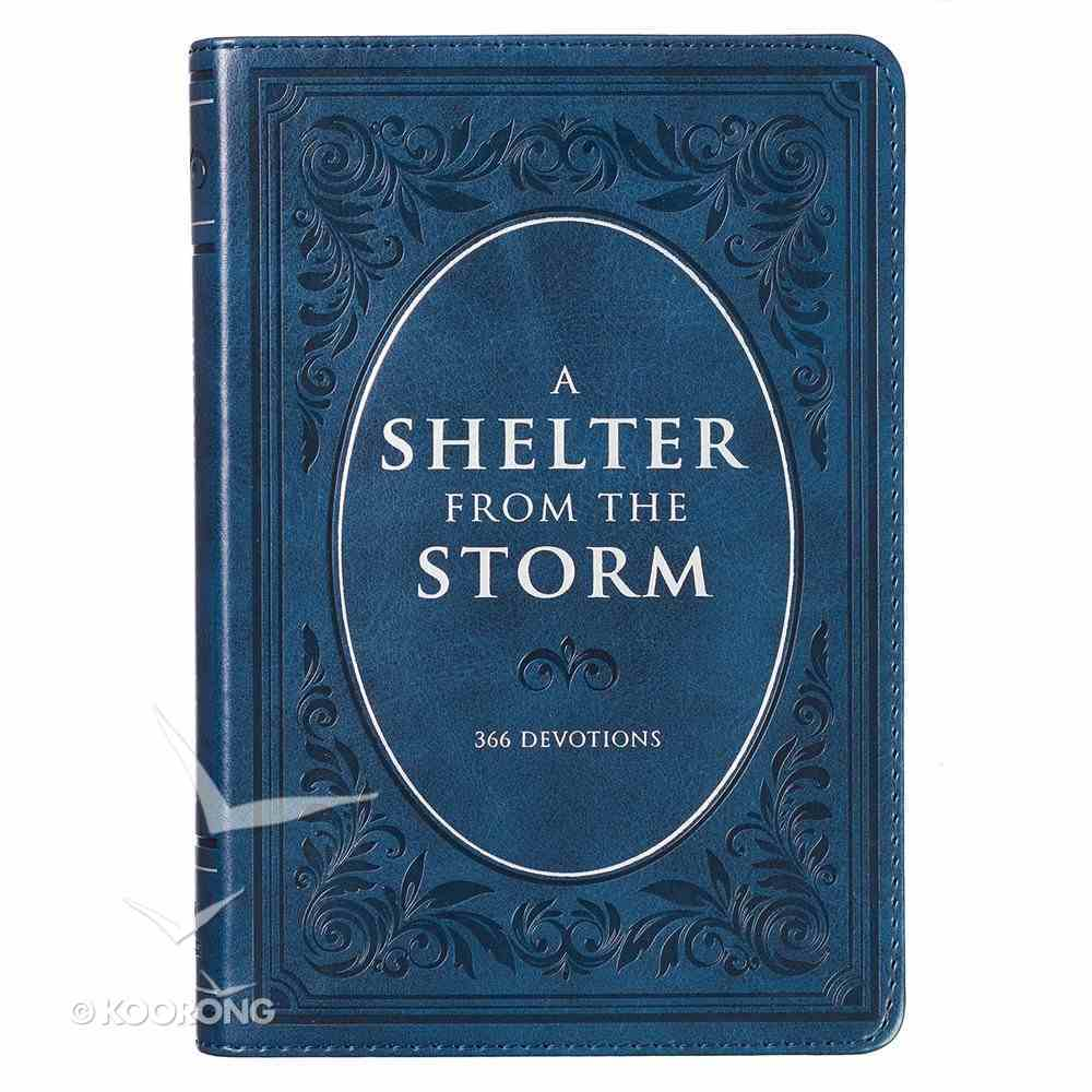 A Shelter From the Storm (365 Daily Devotions Series) Imitation Leather