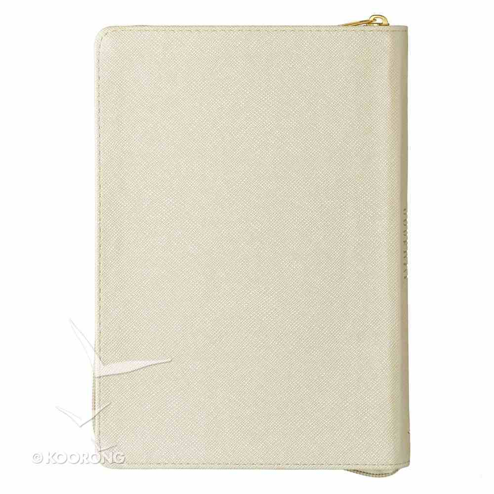 Classic Journal: I Know the Plans I Have For You....White/Gold Lettering Luxleather Imitation Leather