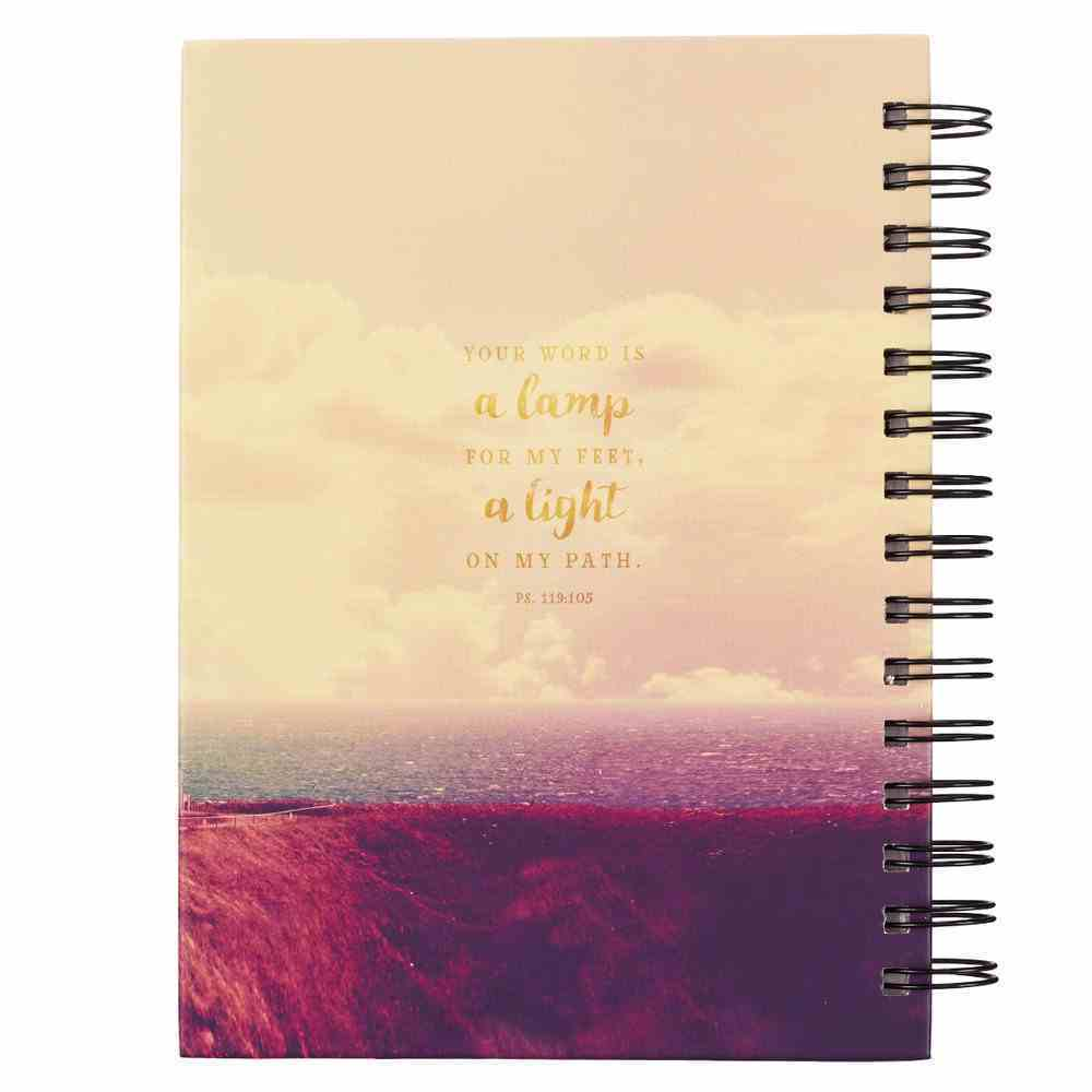 Wirebound Journal: Your Word is a Lamp, Lighthouse Spiral