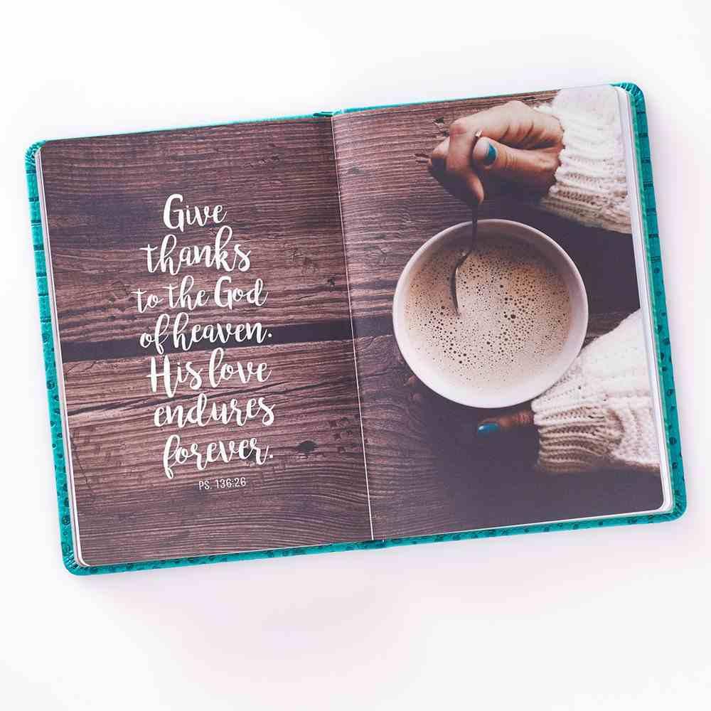 Journal: Gratitude For Moms, Blue Luxleather Hardback