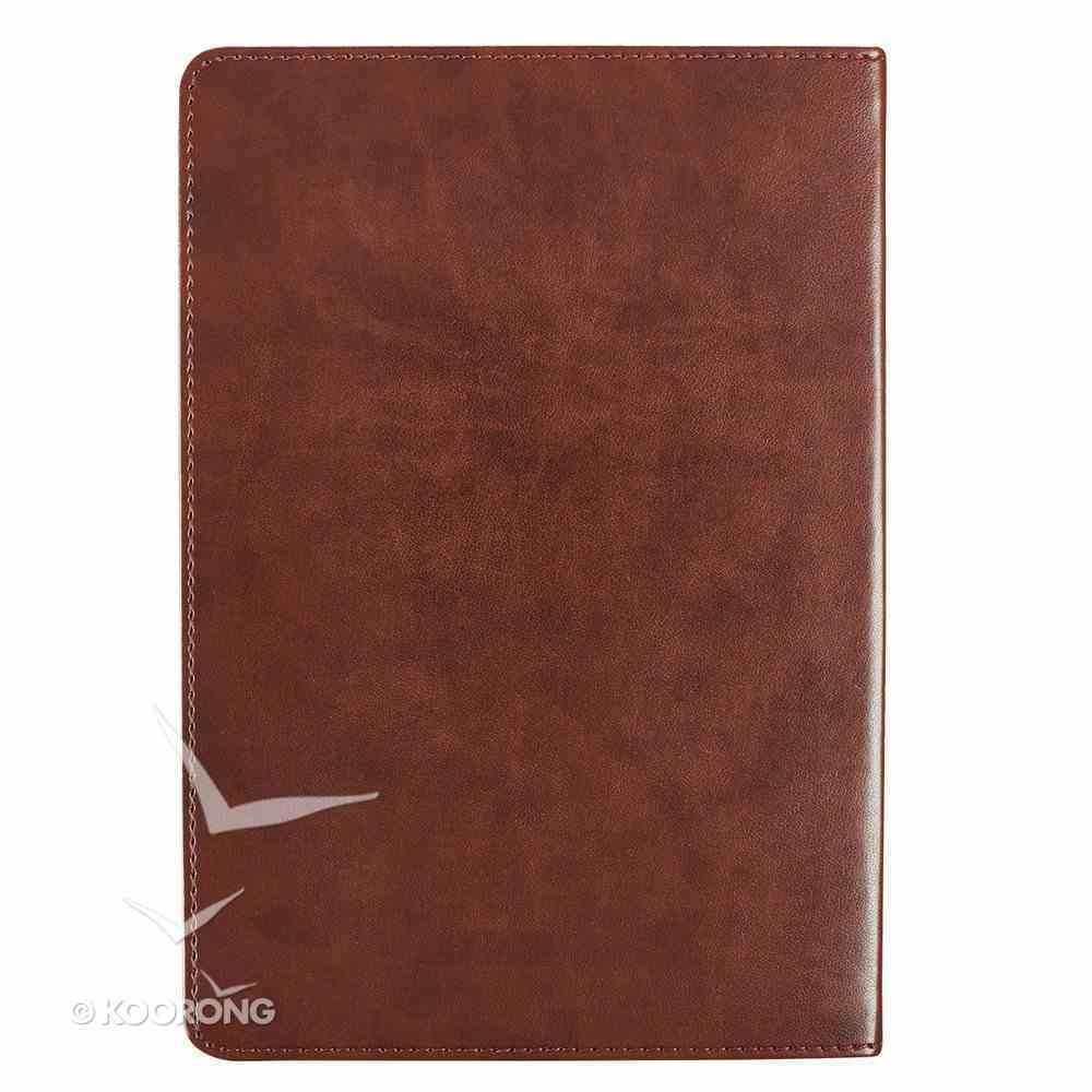 Prayer Journal: In Christ Alone, Two-Tone Browns, Luxleather Imitation Leather