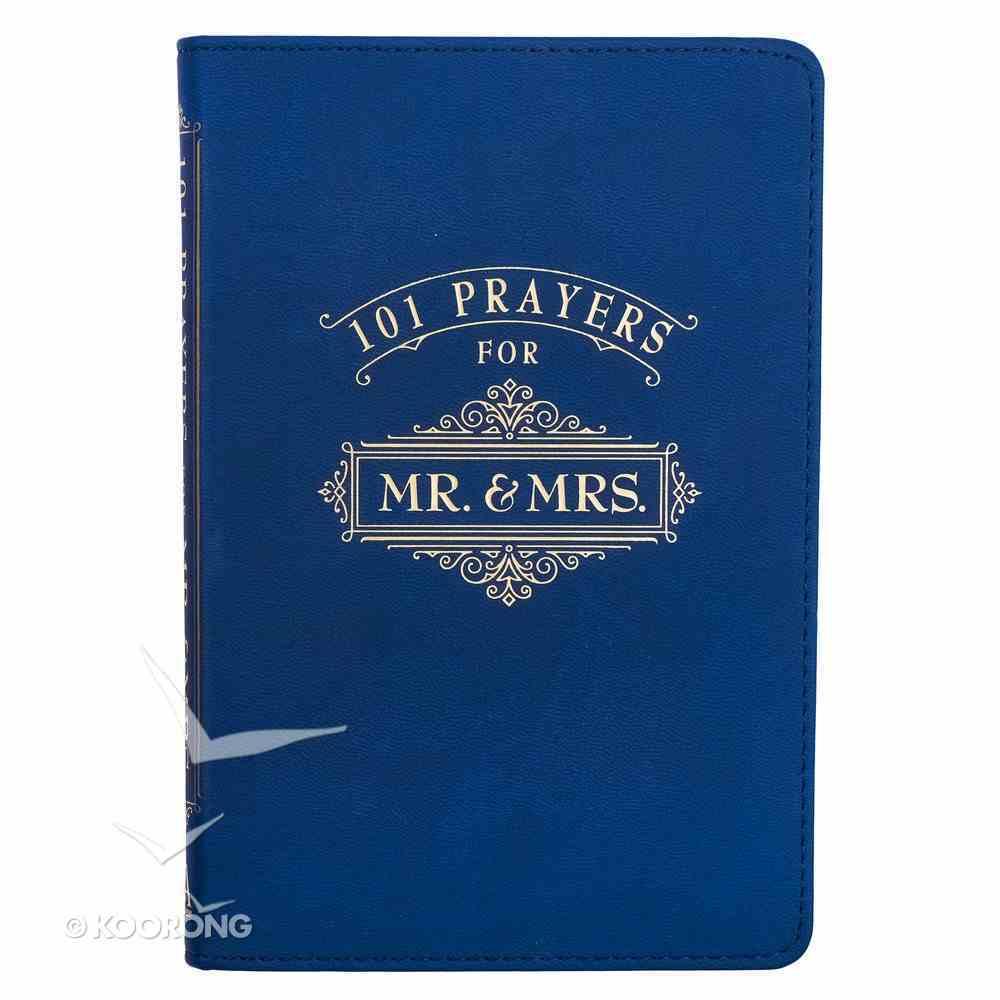 101 Prayers For Mr & Mrs (Navy) Imitation Leather