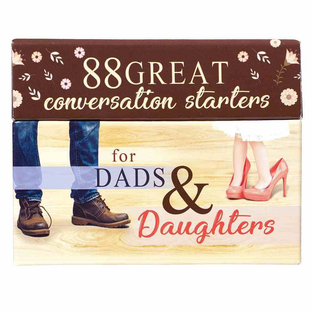 Conversation Starters: 88 Great Conversation Starters For Dads & Daughters Box