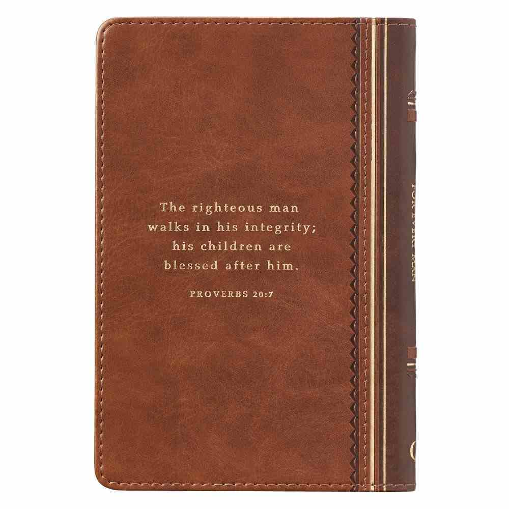 Promises From God For Every Man (Light Brown Luxleather) Imitation Leather