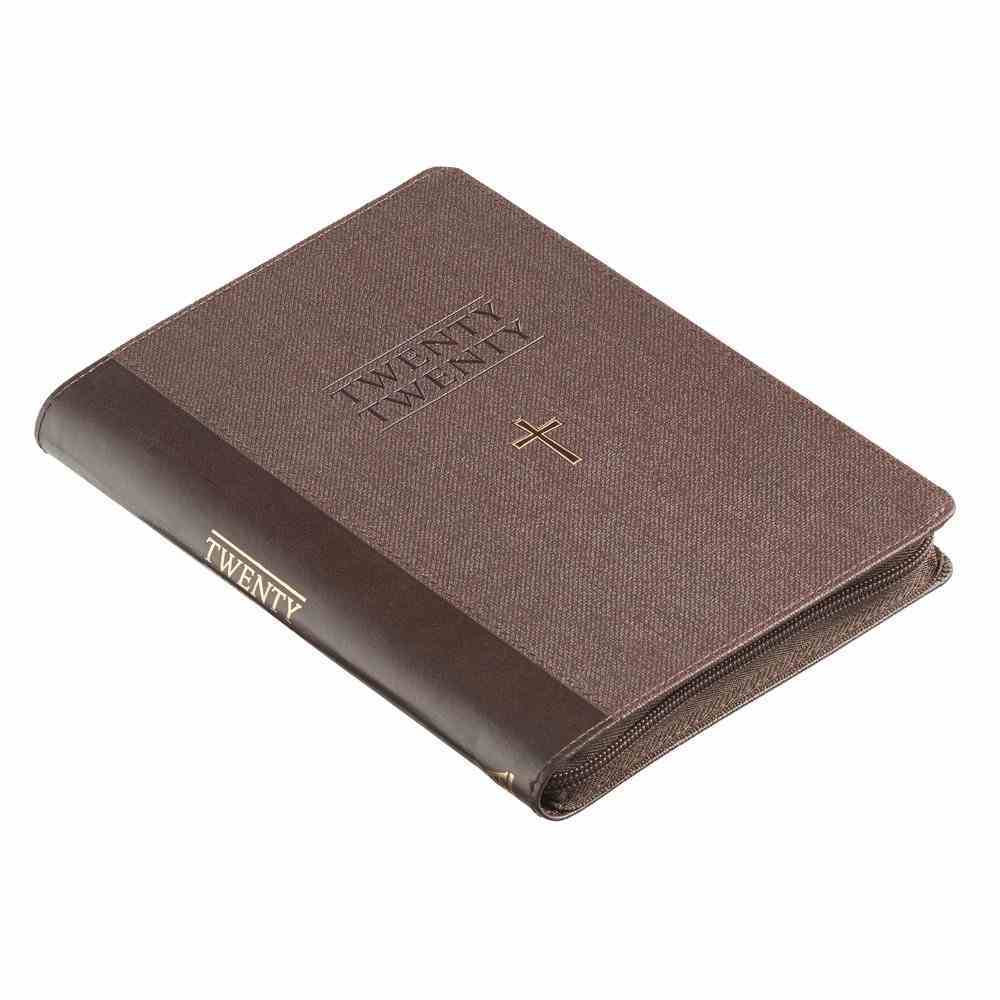 2020 Executive 12-Month Diary/Planner: Cross, Black, Foiled Cover Luxleather Imitation Leather