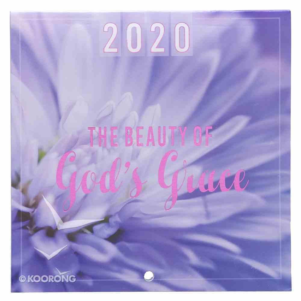 2020 Small Calendar: The Beauty of God's Grace Calendar