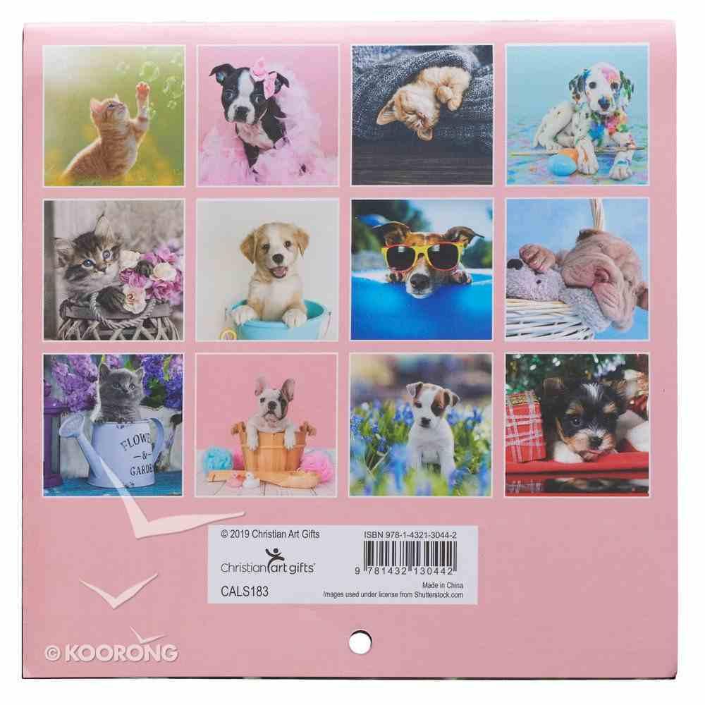 2020 Small Calendar: Pawsome Pets Calendar