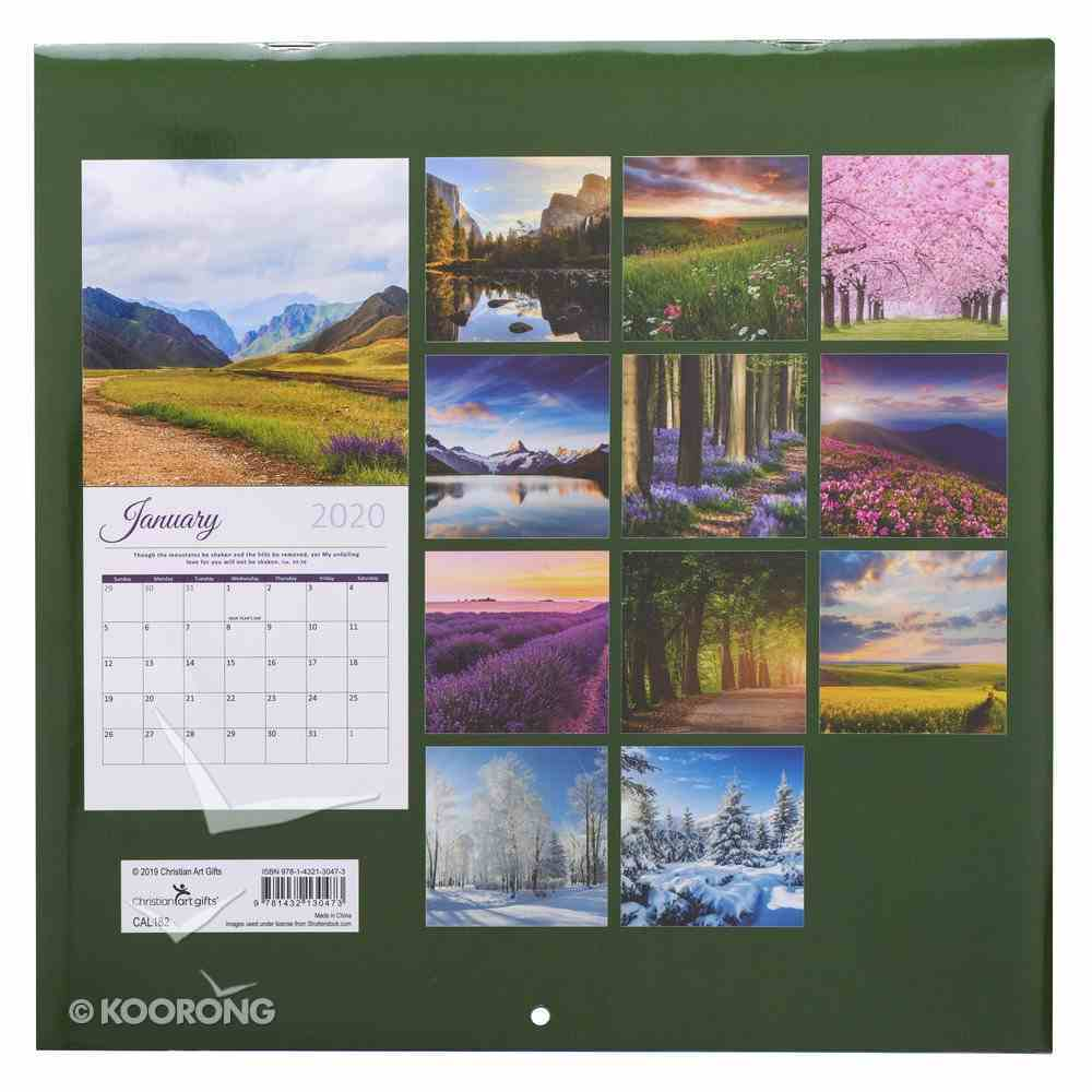 2020 Large Calendar: Promises From God Calendar