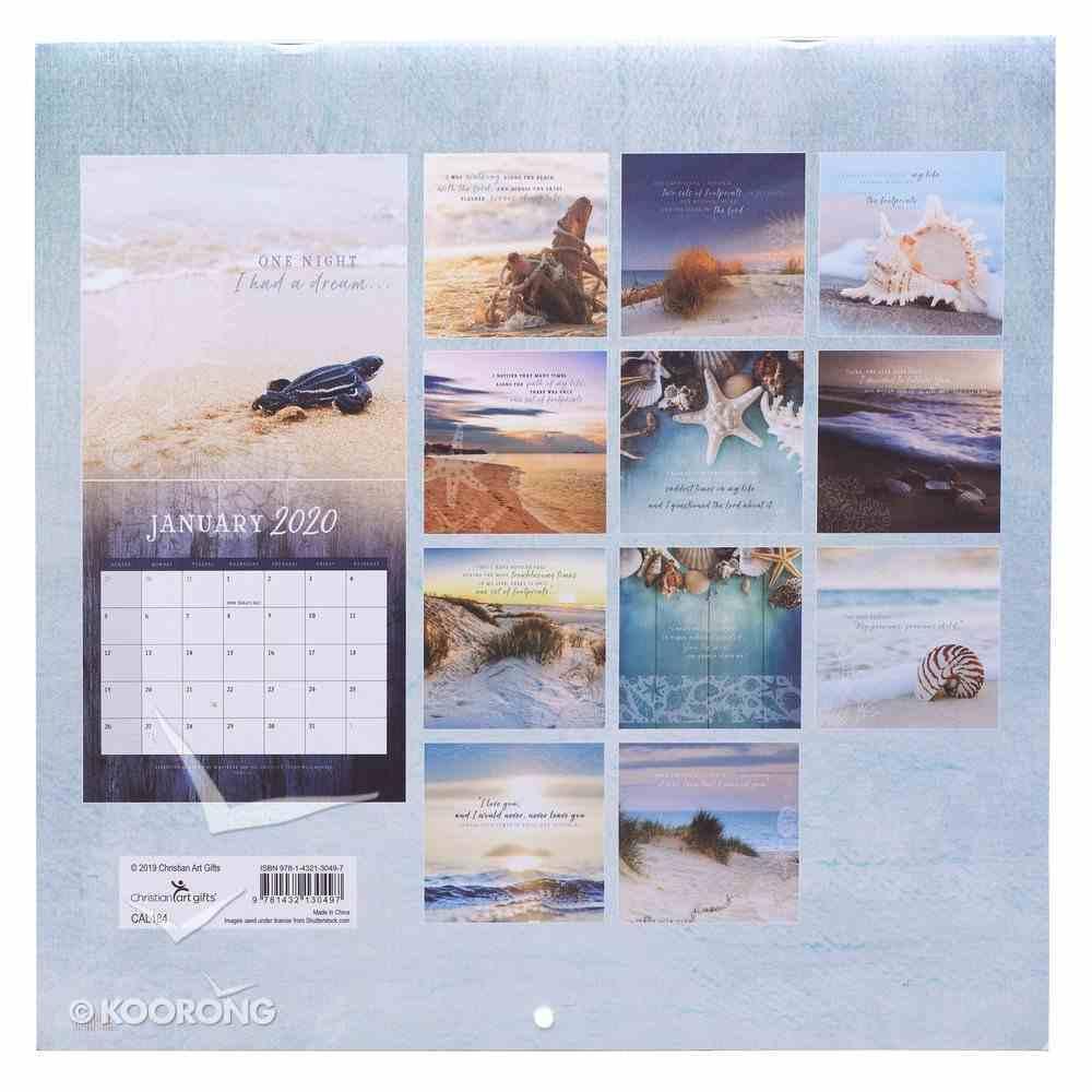 2020 Large Calendar: Footprints Calendar