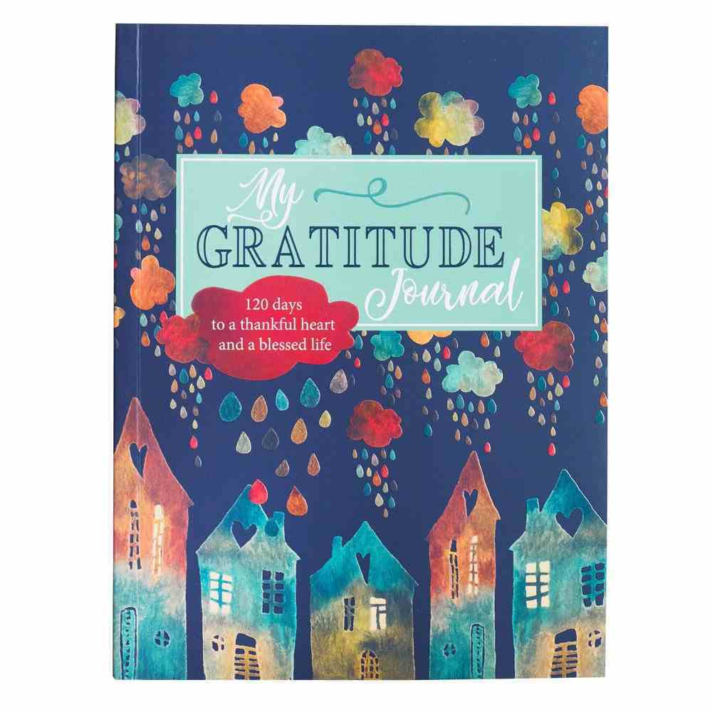 Prompted Journal: My Gratitude Journal, Teal (Gift Of Grace Collection) Paperback