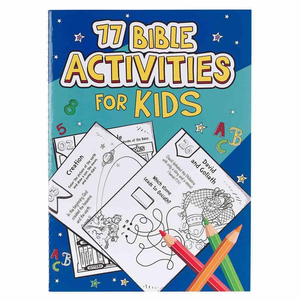 77 Bible Activities For Kids Paperback