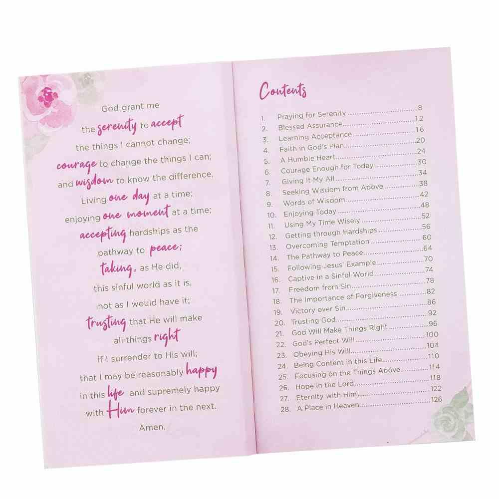 The Serenity Prayer Promise Book Paperback