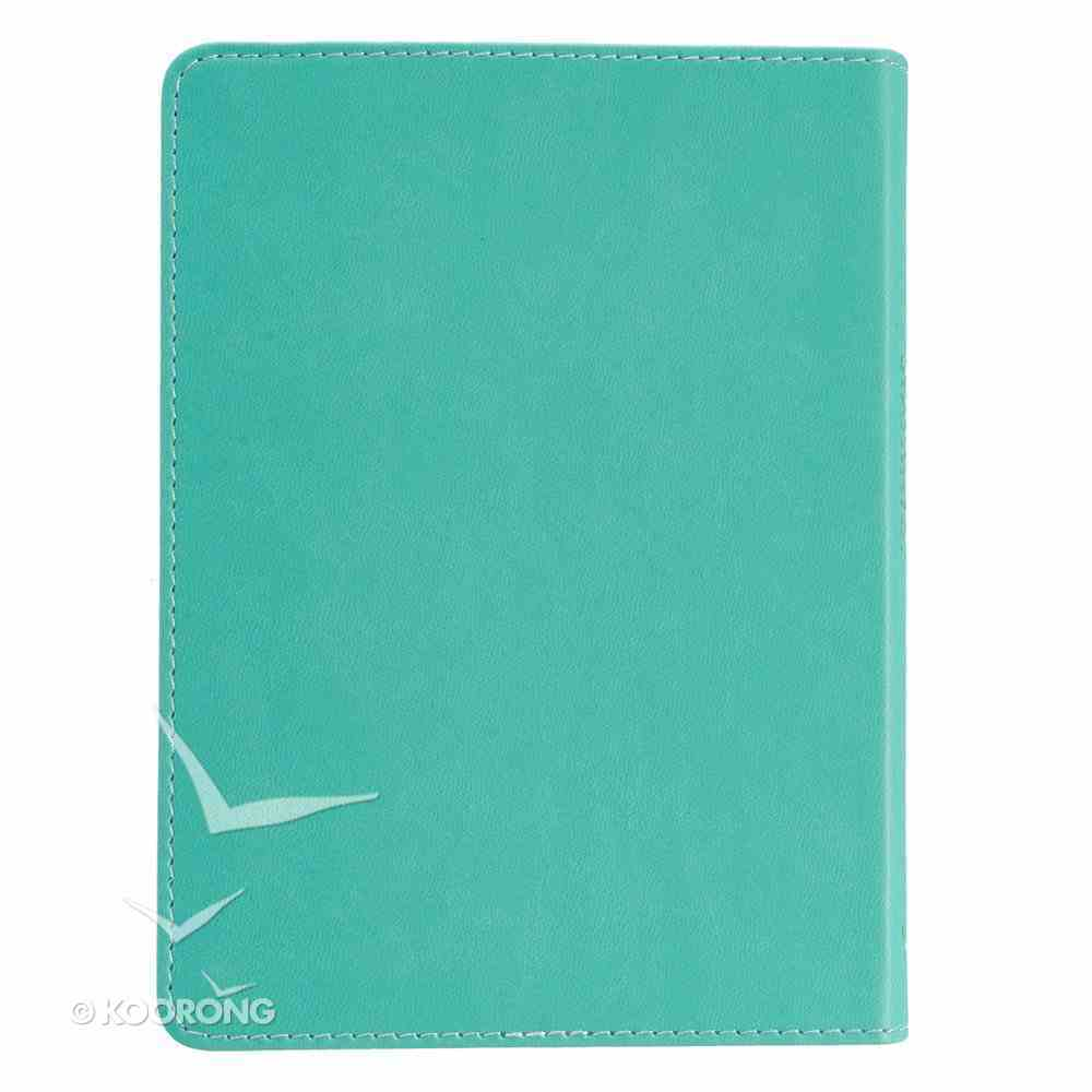 Journal: Whoever Believes in Him Turquoise, Handy-Sized (John 3:16) Imitation Leather