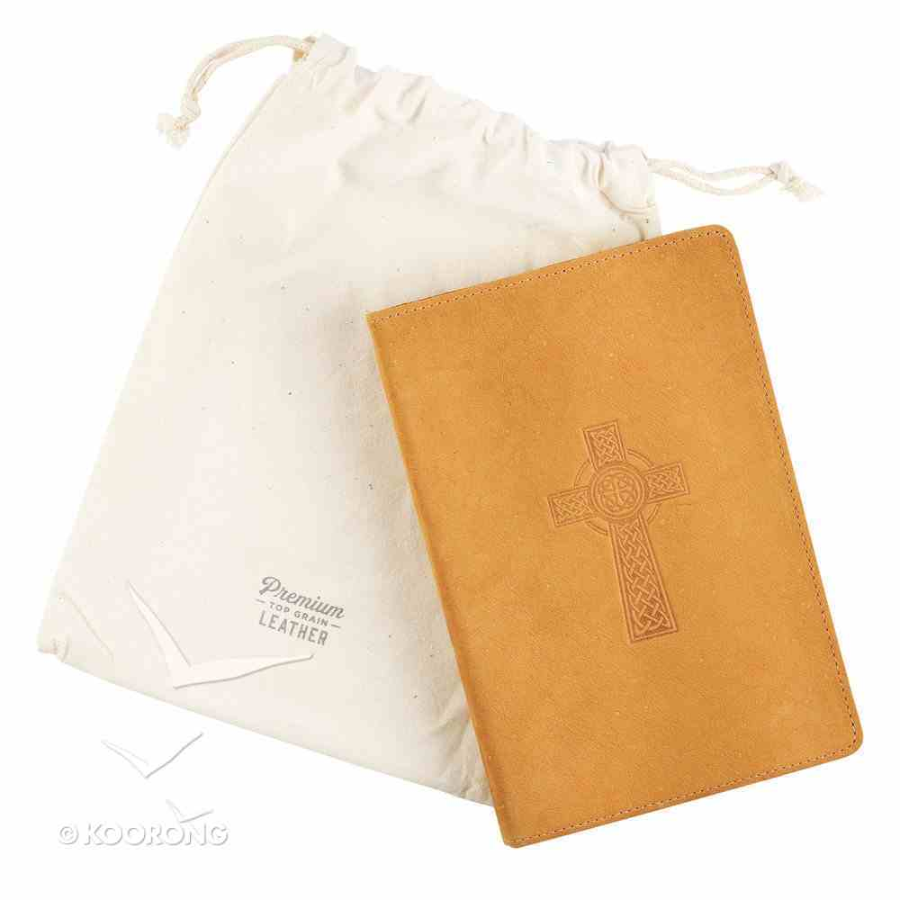 Classic Journal: Celtic Cross, Genuine Leather Genuine Leather