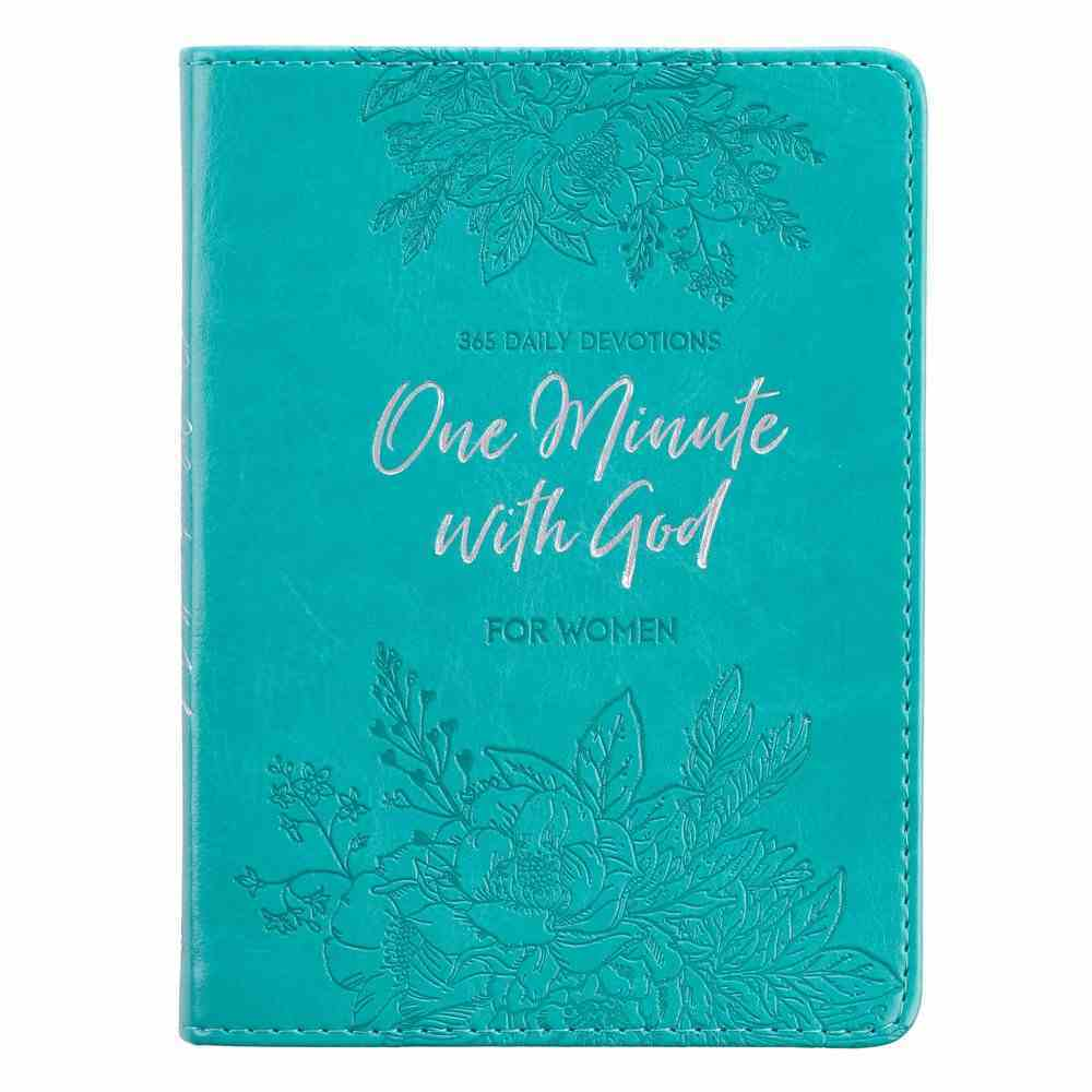 One Minute With God For Women Devotional Imitation Leather
