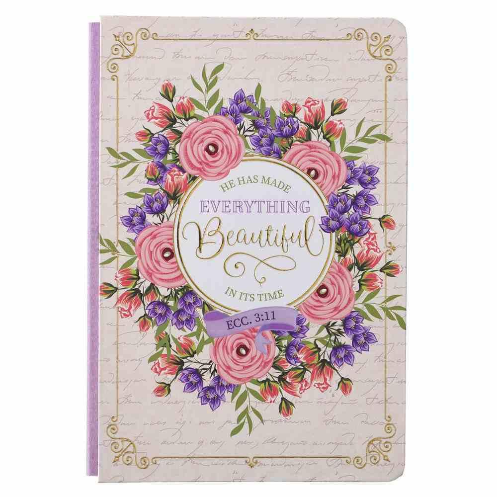 Journal: He Has Made Everything Beautiful, Pink Fabric Over Hardback