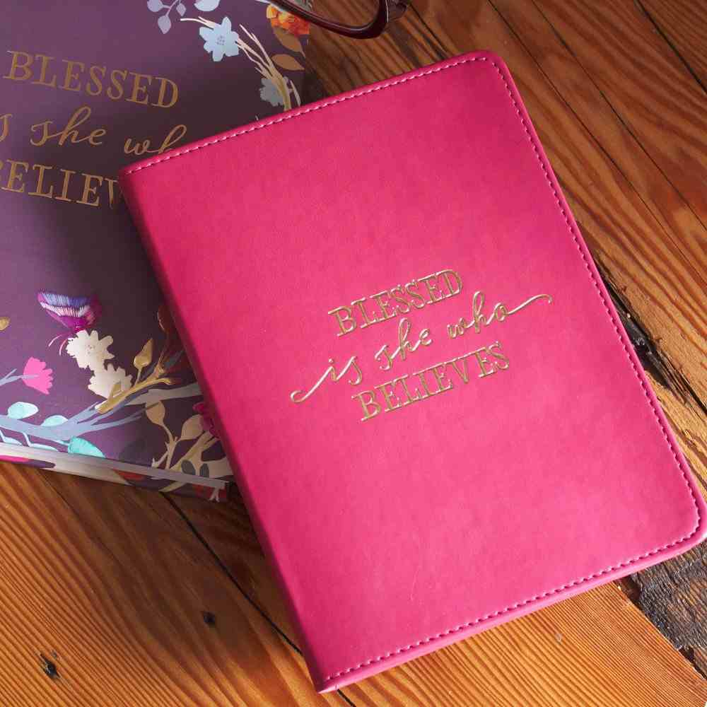 Journal: Blessed is She, Ruby, Handy-Sized (Blessed Is She Collection) Imitation Leather