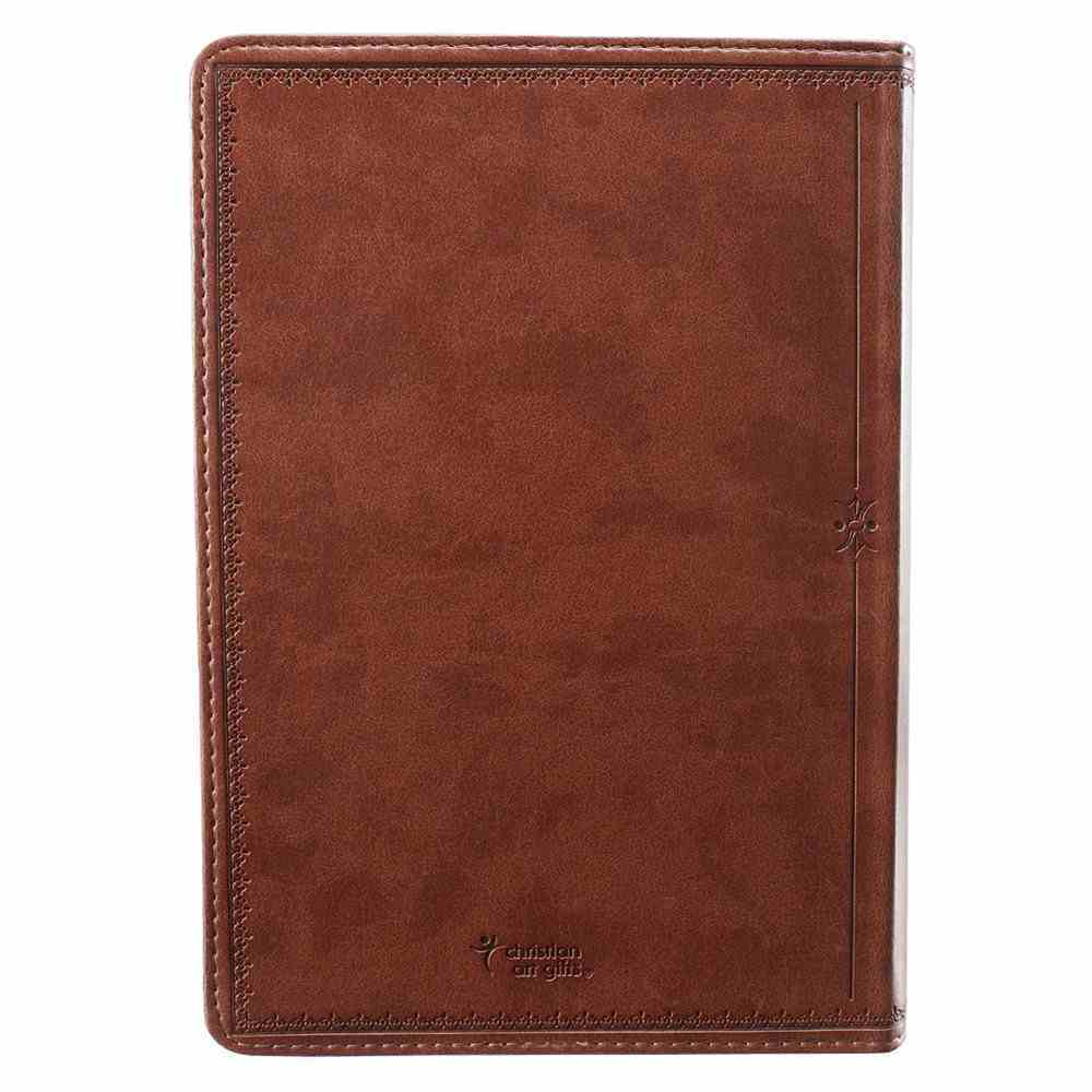 Classic Journal: For I Know the Plans Brown Luxleather Imitation Leather