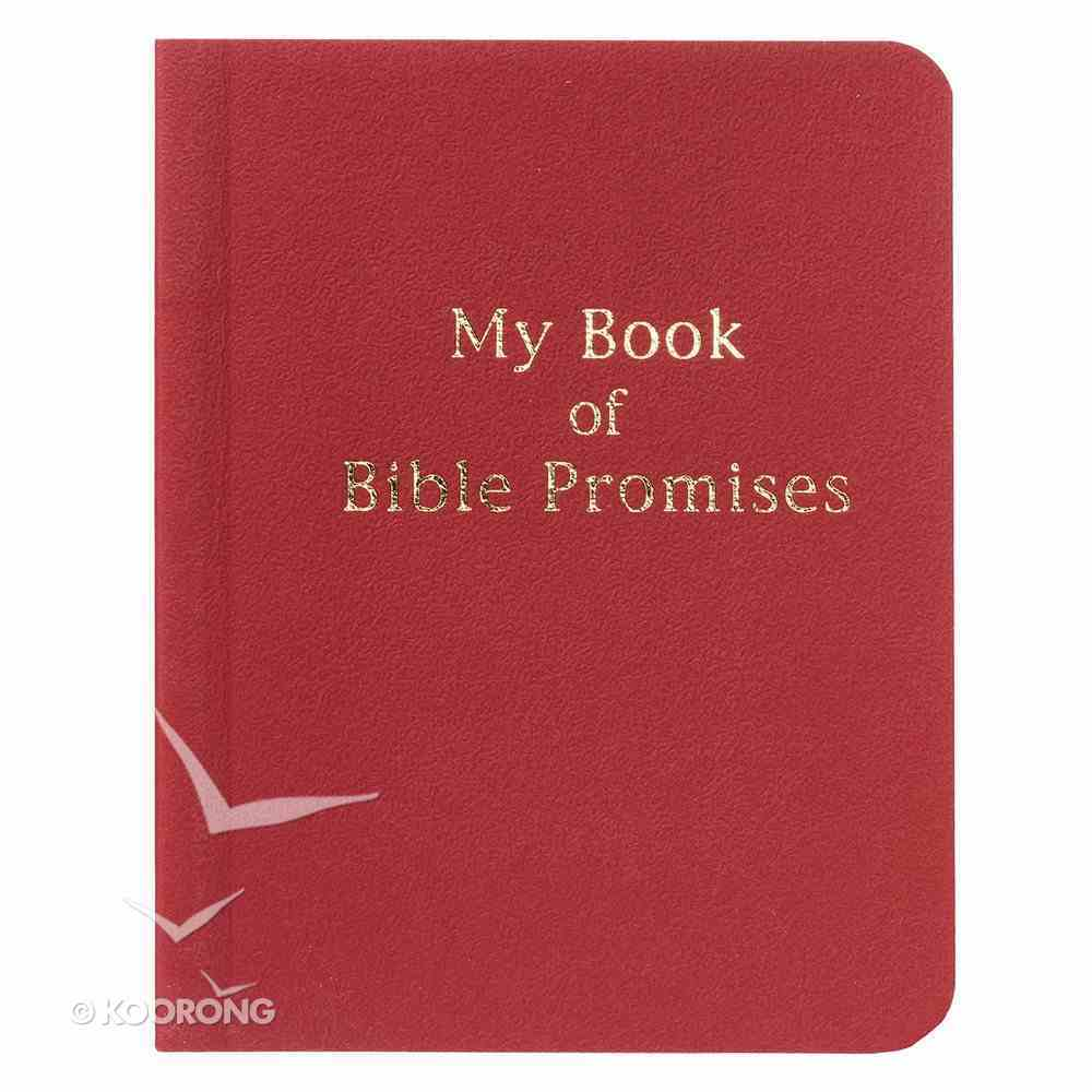 My Book of Bible Promises (Red) Imitation Leather