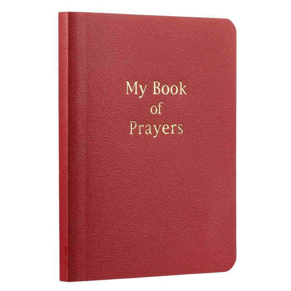 My Book of Prayers (Red) Paperback