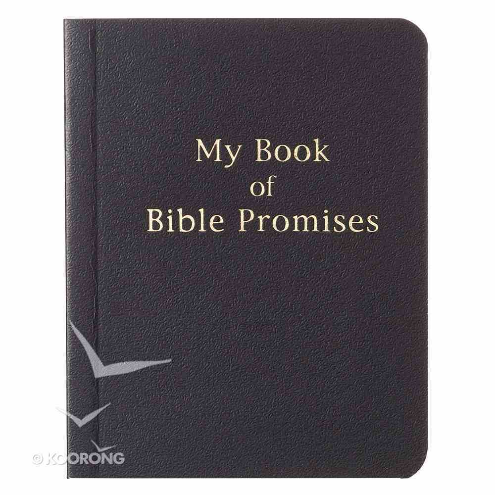My Book of Bible Promises (Black) Imitation Leather