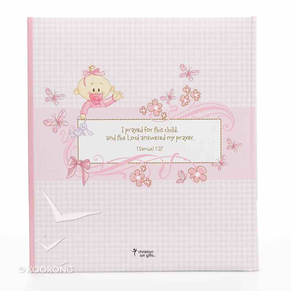 Our Baby Girl Memory Book Gift Boxed Hardback