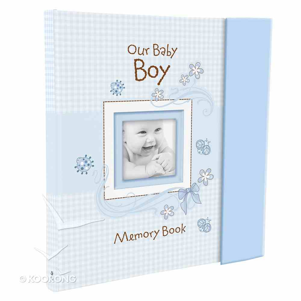 Our Baby Boy Memory Book Gift Boxed Hardback