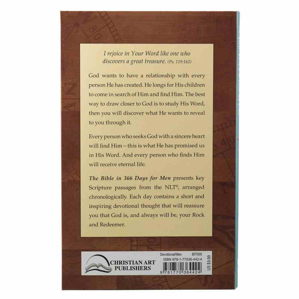 The Bible in 366 Days For Men (Nlt) Paperback