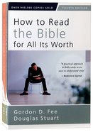 How to Read the Bible 2-Pack (2 Volumes) (4th Editions) Paperback