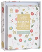 Joyce Meyer Boxed Cards: God Thinks You Are Special, White/Yellow/Green Floral Box
