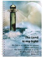Spiral Softcover Journal: Lighthouse, the Lord is My Light Spiral